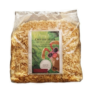 100% Organic Natural Wood Shavings Critter Litter